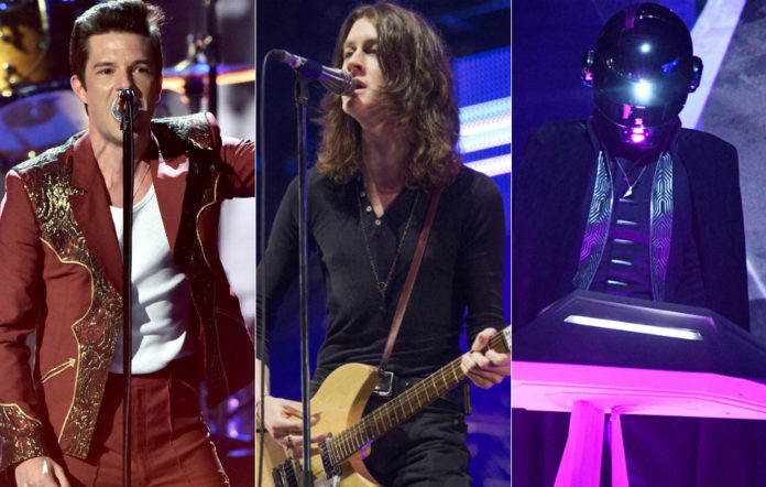 The Killers, Blossoms and Daft Punk