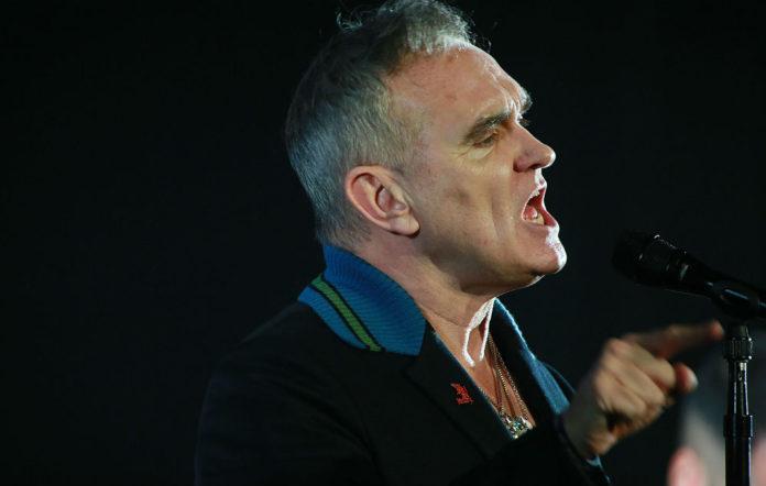 Morrissey, live