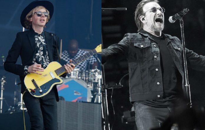 Beck and U2 frontman Bono