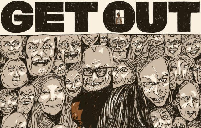 'Get Out' vinyl artwork