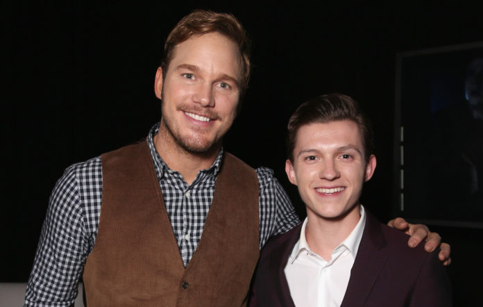 Tom Holland Chris Pratt