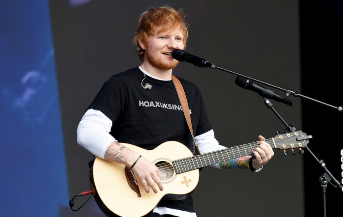 Ed Sheeran chapel