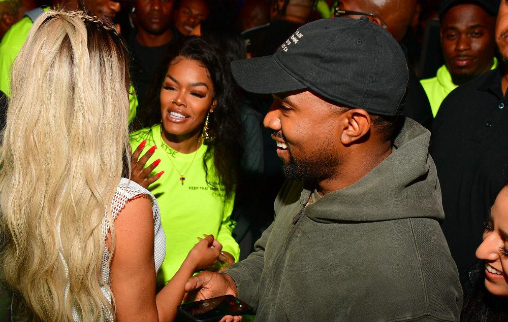 Teyana Taylor and Kanye West
