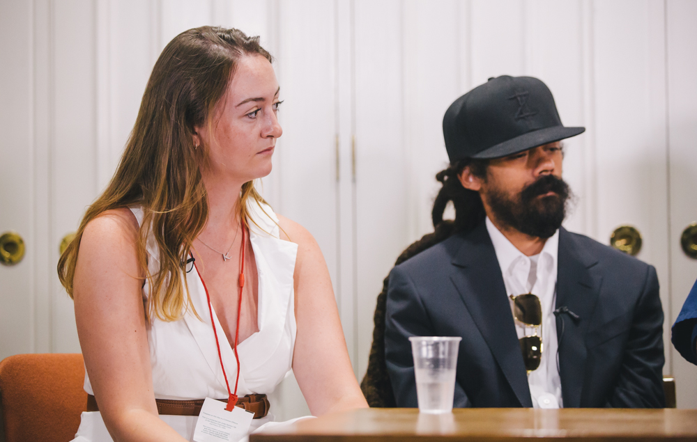 Kate Rothwell and Damian Marley