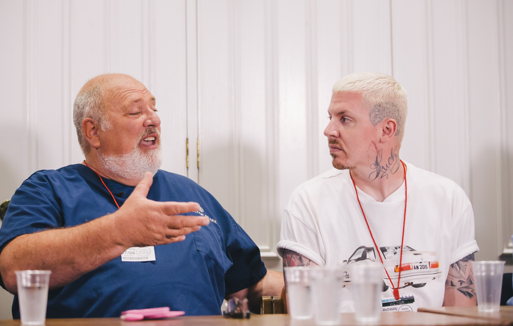 Doctor Frank and Professor Green