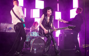 Heather Baron-Gracie of the band Pale Waves