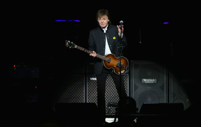 Paul McCartney plays secret gig in Liverpool pub