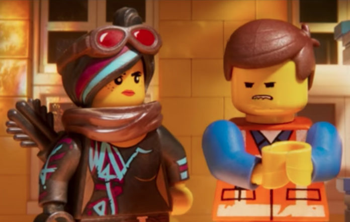 Wyldstyle and Emmet from The Lego Movie 2