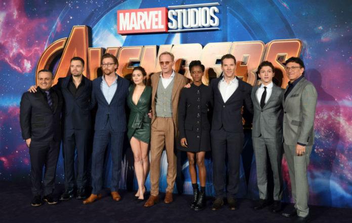 Avengers 4 concept art team