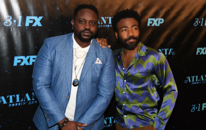 Brian Tyree Henry (l) and Donald Glover (r), stars of Atlanta