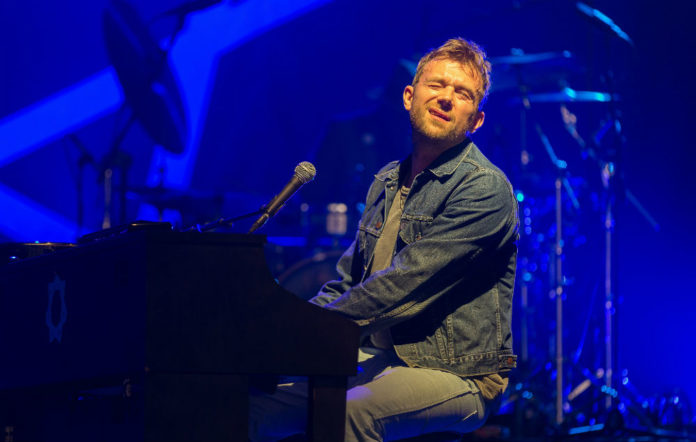 Damon Albarn performing at day 1 of the Rock Werchter festival