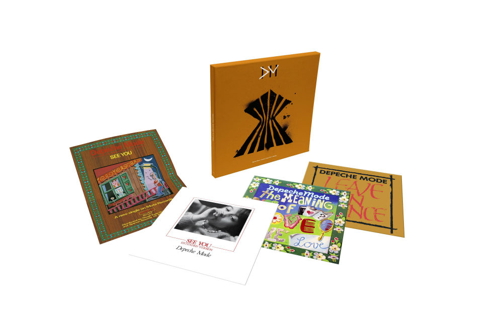 Depeche mode singles box set