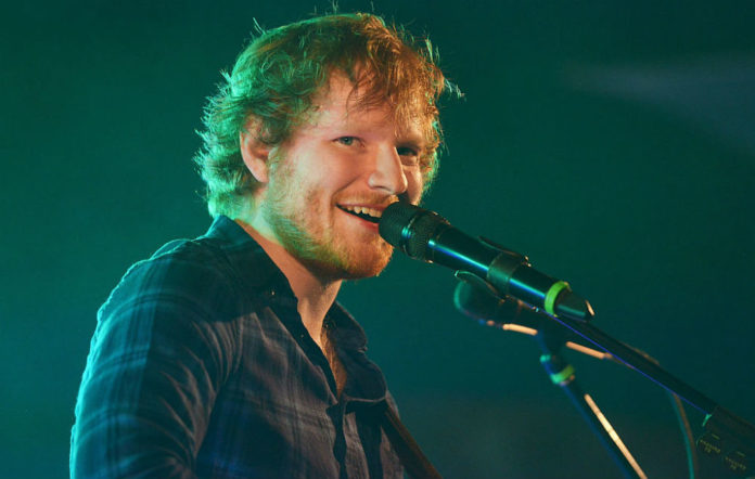 Ed Sheeran cardiff toilet break