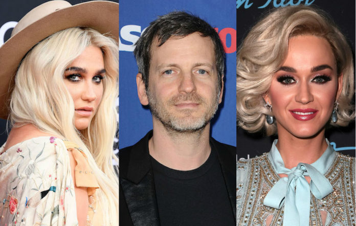 Kesha Dr Luke Katy Perry