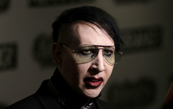 Marilyn Manson cry little sister video