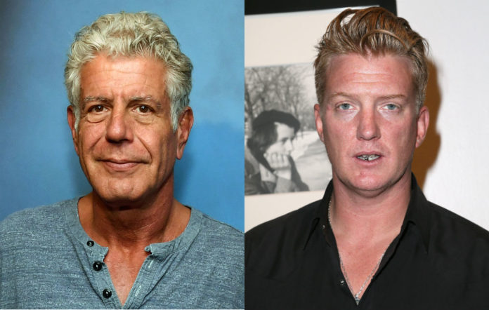 Queens of the stone age tribute anthony bourdain