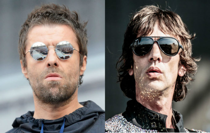 Richard Ashcroft support liam gallagher finsbury park