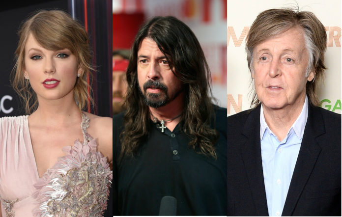 Dave Grohl Taylor Swift