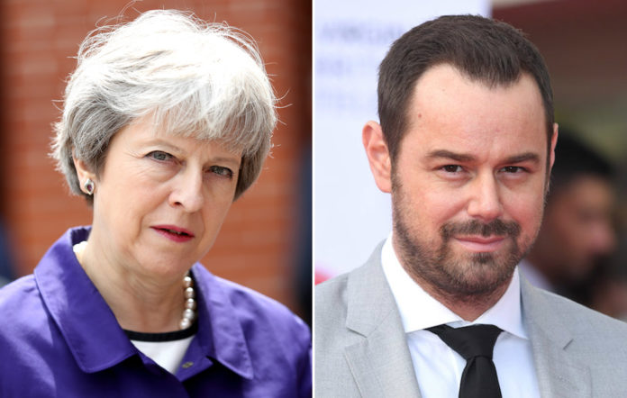 Theresa May Danny Dyer