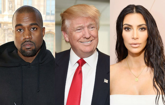 Trump thanks Kanye Kim black voters
