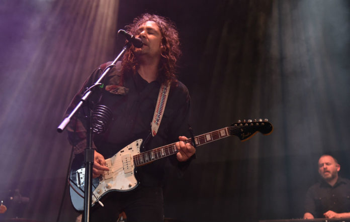 CONCORD, CA - MAY 13: Adam Granduciel of The War on Drugs performs during the Live 105 BFD at Concord Pavilion on May 13, 2018 in Concord, California