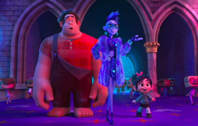 Wreck it ralph 2 trailer daft punk