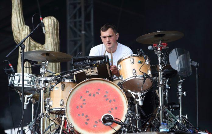 Glass Animals drummer Joe Seaward