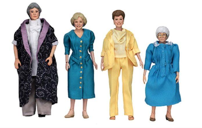 'The Golden Girls' action figures