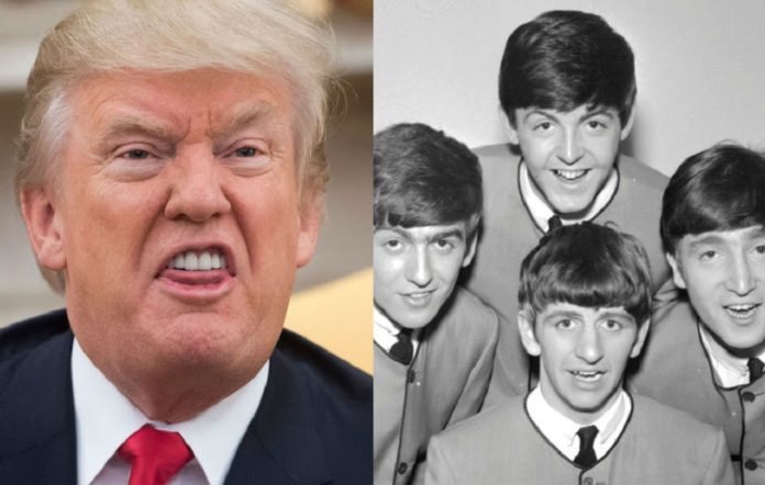 Donald Trump and The Beatles