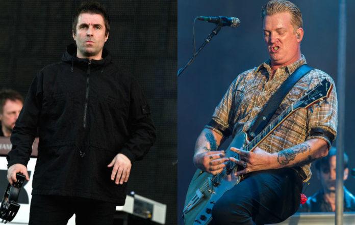 Liam Gallagher and QOTSA perform at Finsbury Park