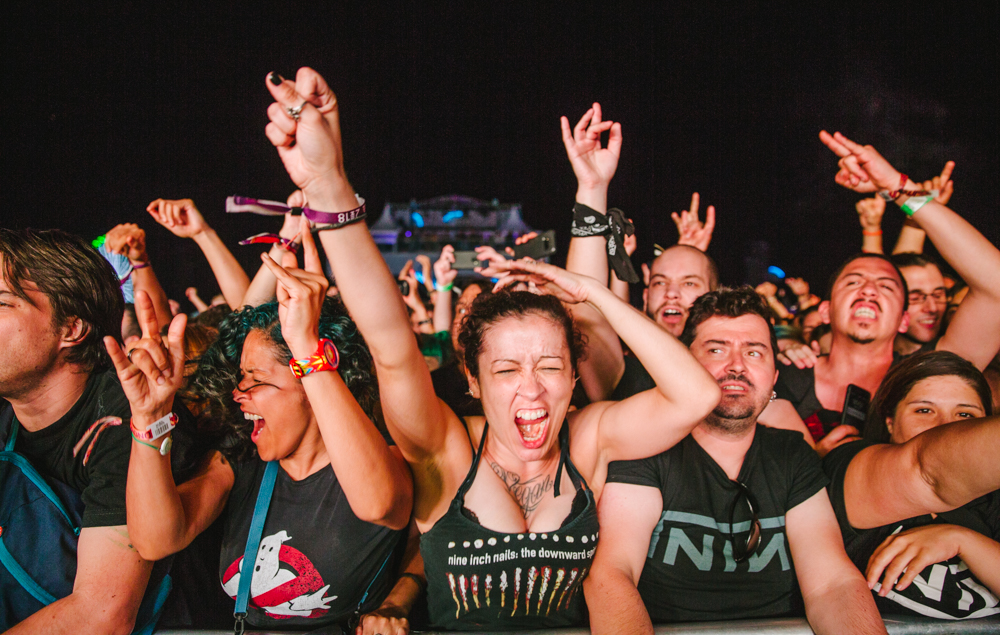 Nine Inch Nails at Mad Cool Festival 2018