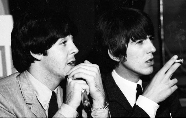 George Harrison Paul McCartney Hey Jude ideas