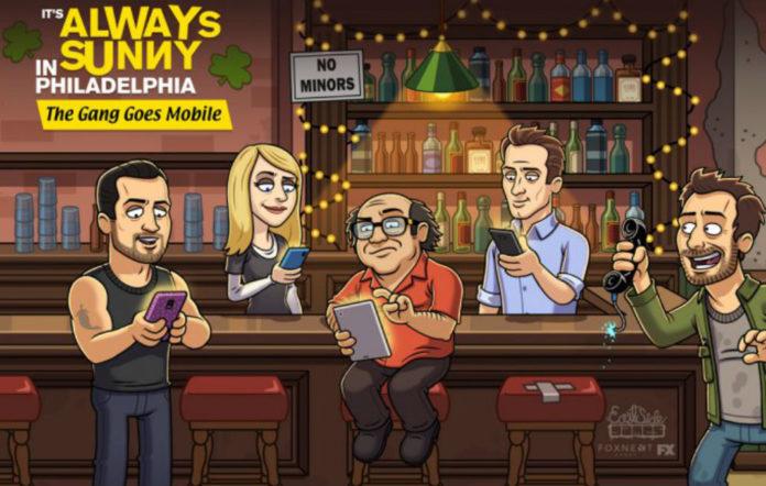 It's Always Sunny in Philadelphia mobile game