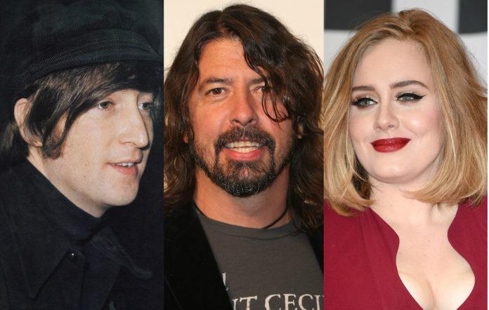 Dave Grohl John Lennon Adele