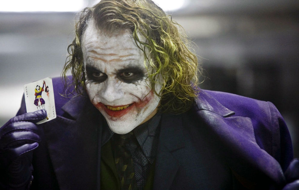 Jonathan nolan heath ledger joker