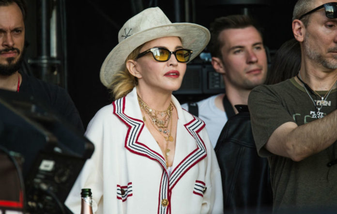 Madonna watched Migos wireless