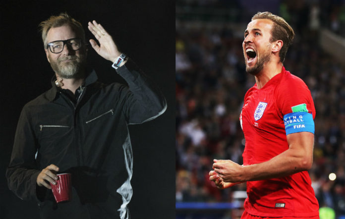 The National's Matt Berninger / England's Harry Kane