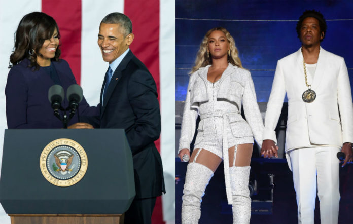 The Obamas / The Carters