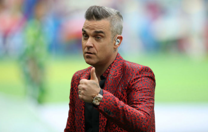 Robbie Williams most featured artist now