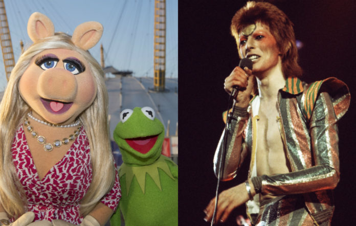 the muppets, david bowie