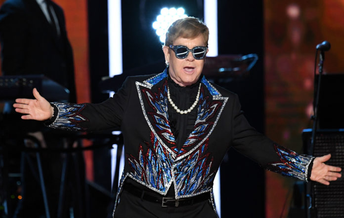 Elton John rap