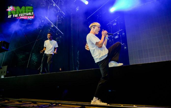 Brockhampton's Lowlands Festival show