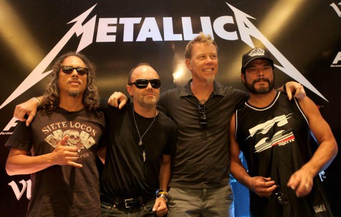 Metallica are launching
