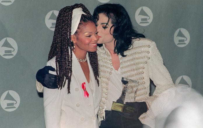 Janet Jackson and Michael