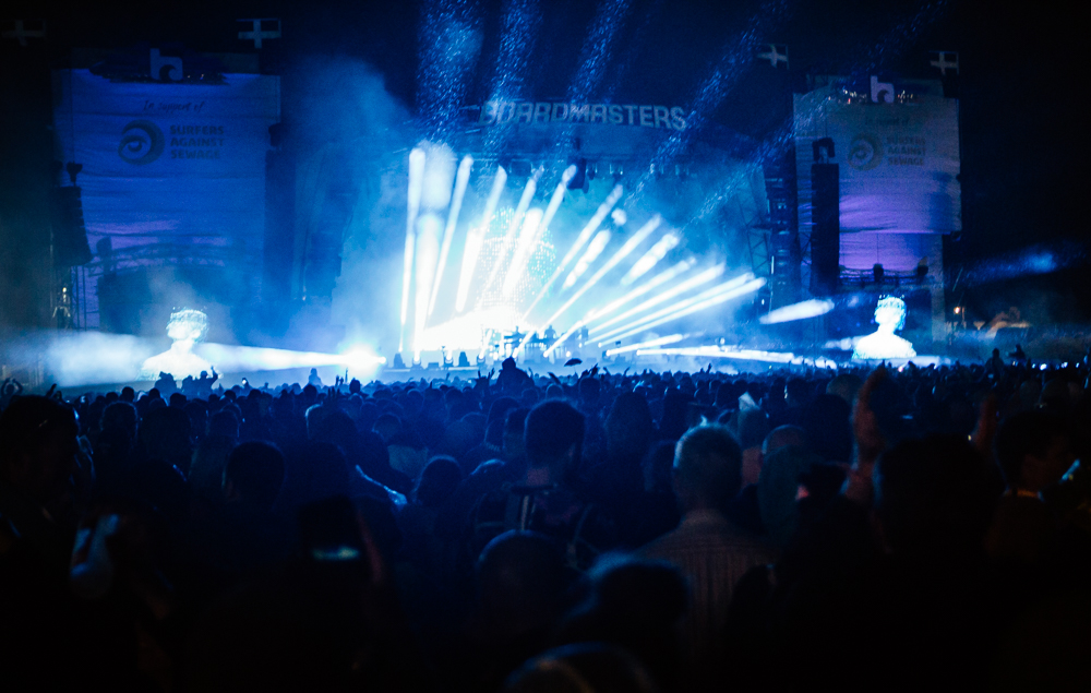 The Chemical Brothers play the hits at Boardmasters 2018