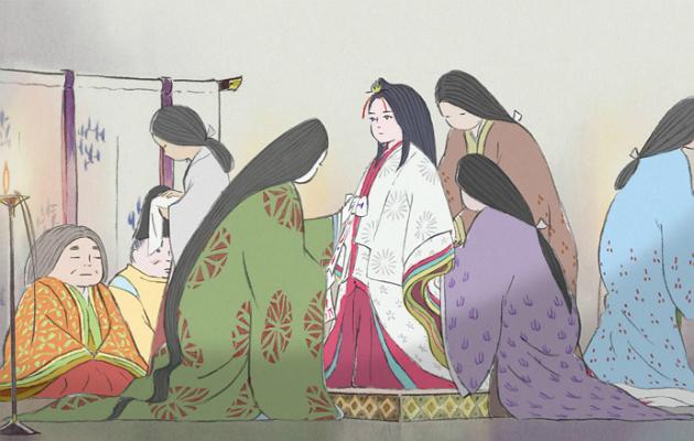 studio ghibli, princess kaguya