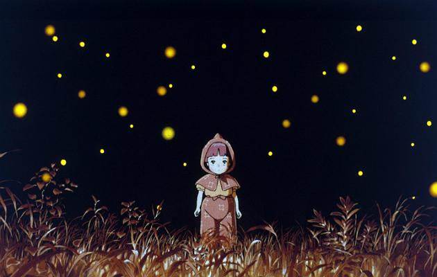 grave of the fireflies, studio ghibli