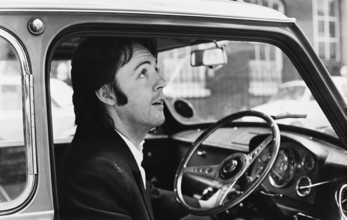 Paul McCartney's 1965 Mini Cooper S DeVille to be sold at US ...