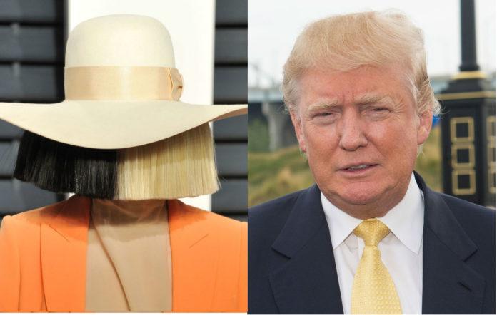 Sia Donald Trump diarrhoea