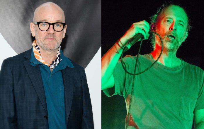 Michael Stipe and Thom Yorke
